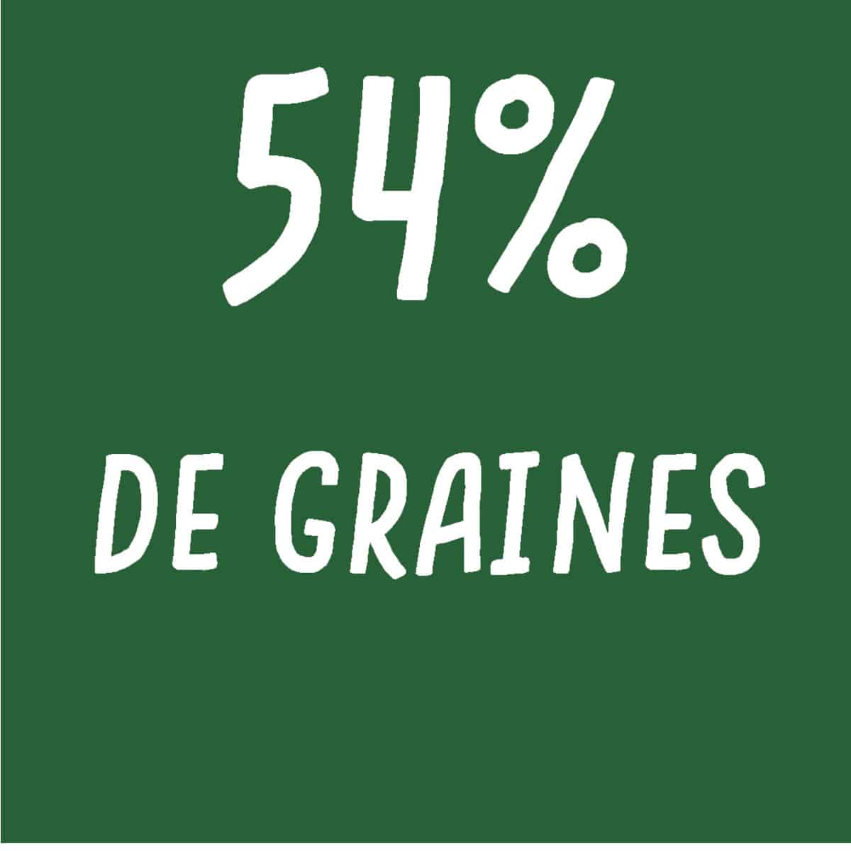 crackers piment, tomate, origan 54% graines